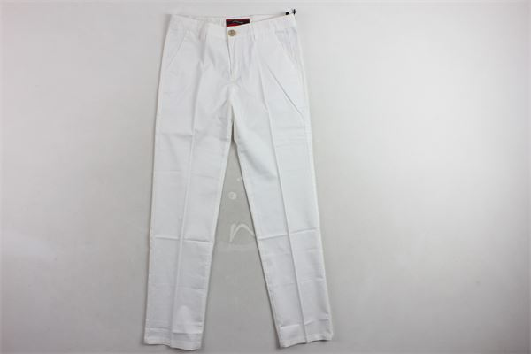 pantalone tinta unita  tasca americana TAGLIATORE | Pantaloni | CE01BIANCO