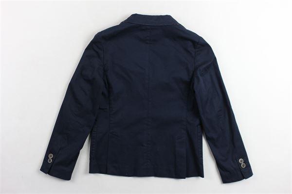 giacca  tinta unita  con pochette TAGLIATORE | Giacche | TGC182BLU