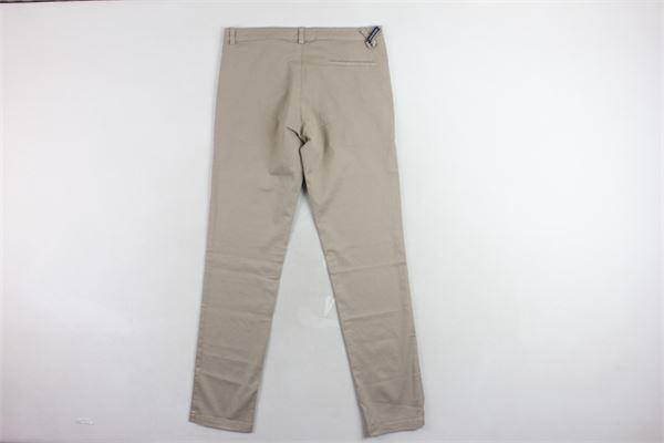 pantalone tinta unita microfantasia tasca americana TAGLIATORE | Pantaloni | TPA152XBEIGE