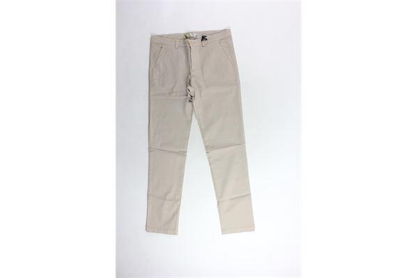 pantalone tinta unita microfantasia tasca americana TAGLIATORE | Pantaloni | TPA152XBEIGEX