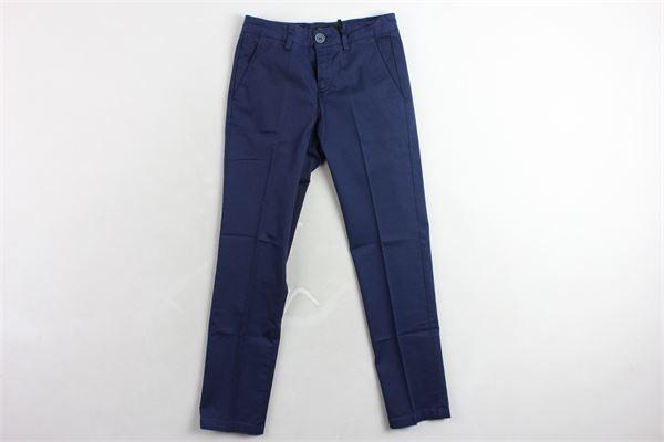 pantalone tasca america tinta unita TAGLIATORE | Pantaloni | TPA154BLU