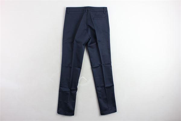 pantalone tinta unita  tasca americana TAGLIATORE | Pantaloni | TPA158BLU