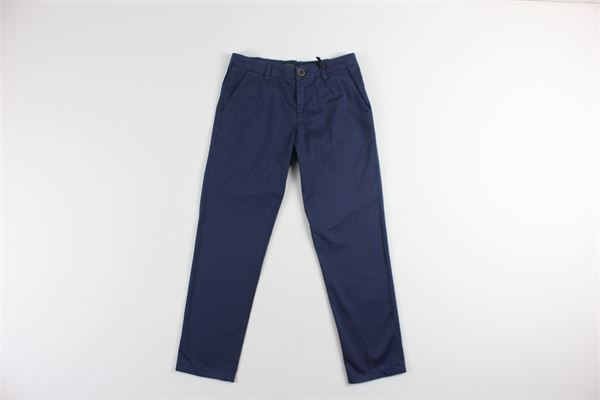 pantalone tasca america tinta unita TAGLIATORE | Pantaloni | TPA161BLU