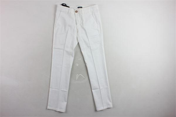 pantalone tinta unita TAGLIATORE | Pantaloni | TPA502BIANCO