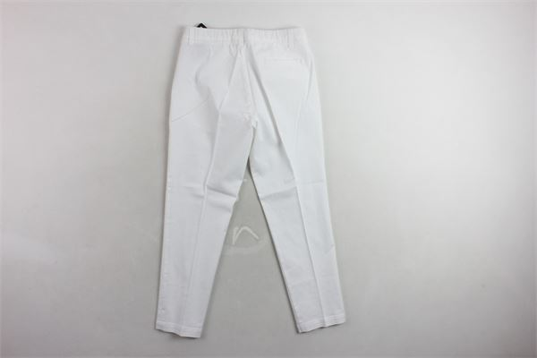 pantalone tinta unita TAGLIATORE | Pantaloni | TPA507BIANCO