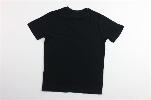 t-shirt tinta unita mezza manica con stampa LYLE&SCOTT   T-shirts   LSC0815NERO