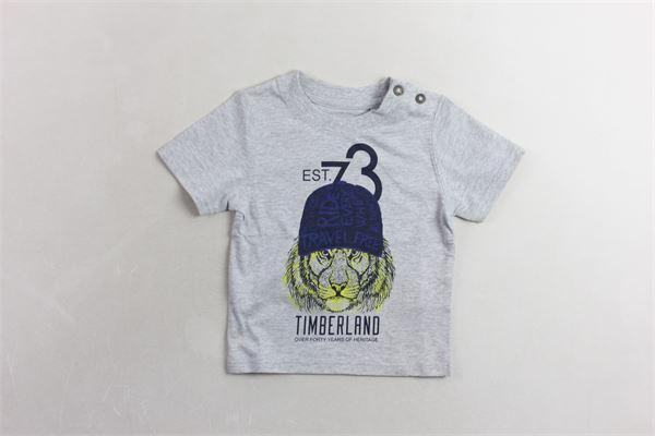 t-shirt mezza manica con stampa TIMBERLAND | T-shirts | T05H57GRIGIO