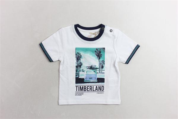 t-shirt mezza manica con stampa TIMBERLAND | T-shirts | T05H62BIANCO