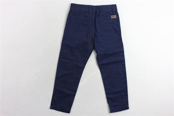 pantalone tinta unita girovita regolabile TIMBERLAND | Pantaloni | T24A19BLU