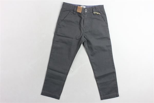 pantalone tinta unita girovita regolabile TIMBERLAND | Pantaloni | T24A19FANGO