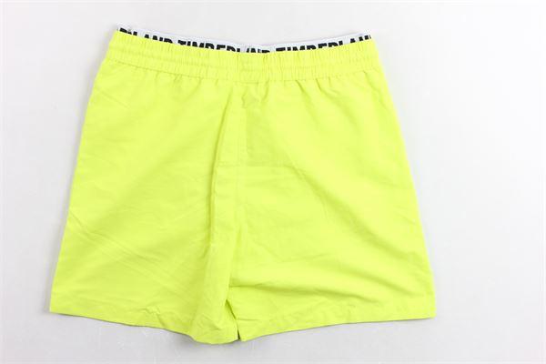 boxer tinta unita con profili in contrasto TIMBERLAND | Costumi | T24A59GIALLO FLUO