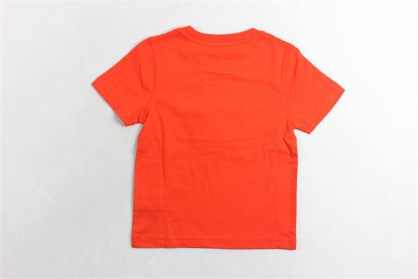 t-shirt mezza manica tinta unita con stampa TIMBERLAND | T-shirts | T25N58ARANCIO