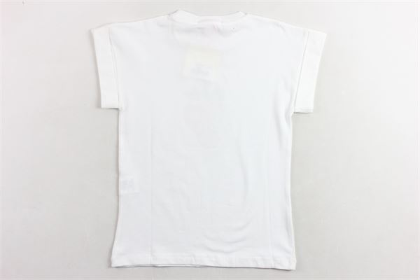t-shirt tinta unita con stampa VICOLO | T-shirts | 3146M0205BIANCO
