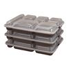 Cook's Clear 6-Compartment Tray Lids