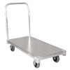"New Age Industrial 24"" x 36"", 2450 Lbs Cap., Smooth Aluminum Platform Truck"