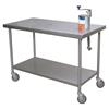 "Cook's 30"" x 60"" Can Opener Table"