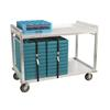 Cook's Brand TDC59AL Aluminum Tray Delivery Cart