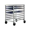 New Age Bun Pan Rack w/Stainless Steel Top
