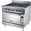 Vulcan V4B36S 4 Burner Heavy Duty Gas Range