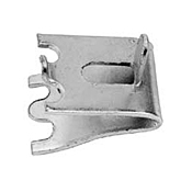 FMP 135-1240 Zinc-Plated Steel Pilaster Clip with Tab - Miscellaneous Maintenance