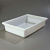 "Carlisle 18"" x 26"" x 6"" White Food Storage Box  - Carlisle"