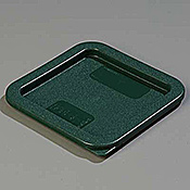 Carlisle Lid for 2-4 qt Square Containers - Carlisle