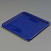 Carlisle Blue Lid for 12-18-22 qt Square Containers - Carlisle