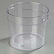 Carlisle StorPlus 6 qt Clear Round Container - Carlisle