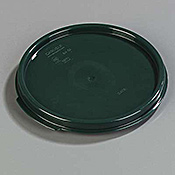 Carlisle StorPlus Forest Green Lid for 2-4 qt Round Containers - Carlisle