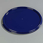 Carlisle StorPlus Blue Lid for 12-18-22 qt Round Containers - Carlisle