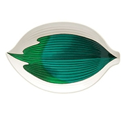 "G.E.T. Contemporary Dinnerware 8"" Leaf Plates - Dinner Plates"