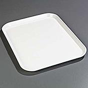 "Carlisle 1410FG 13.75"" x 10.62"" x 0.75"" Rectangular Fiberglass Trays - Cafeteria Trays"