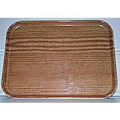 "Carlisle 1612WFG 16.37"" x 12"" x 0.75"" Rectangular Fiberglass Trays - Cafeteria Trays"