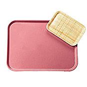 Carlisle 260 mm x 180 mm x 19 mm Fiberglass Trays - Cafeteria Trays