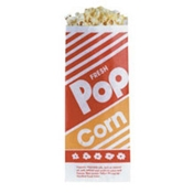 Gold Medal 2054 Disposable Popcorn Bags 1.1 oz. - Disposable Bags