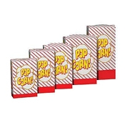Gold Medal 2065 Disposable Popcorn Boxes 1.5-1.8 oz. - Disposable Bags