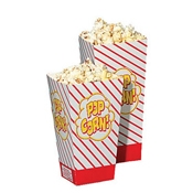 Gold Medal 2066 Disposable Popcorn Boxes 0.8 oz. - Disposable Bags