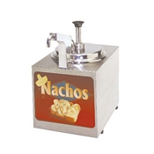 Gold Medal 2197NS Nacho Cheese Warmer Heated Spout - Nacho Machines and Supplies