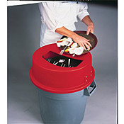 San Jamar KA3200 32 Gallon KatchAll Tableware Retrievers - San Jamar