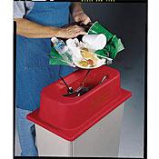 San Jamar KA1951RD Slim Jim Tableware Retriever - San Jamar