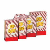 Gold Medal 2268 Disposable Popcorn Boxes 3.3 oz. - Disposable Bags