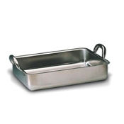 Matfer Bourgeat 713560 Large Roast Pan - Stainless Steel Roasting Pans