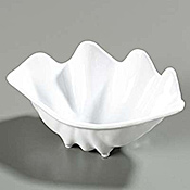 "Carlisle 8-7/8"" x 5-1/2"" Buffet Clam Shells - Servingware"