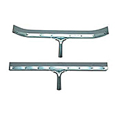 "Continental Straight 36"" Metal Floor Squeegee - Continental"