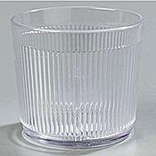 Carlisle 9 oz Old Fashion Tumblers - Old Fashioned Glasses