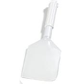 "Carlisle Soft Polyethylene Spatula Scraper w/13-1/2"" Nylon Handle - Spatulas"