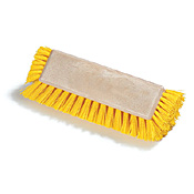 Carlisle 4042200 Floor Scrub with End Bristles - Cleaning Brushes