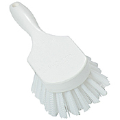 "Carlisle 8"" White Clean-up Brush - Cleaning Brushes"