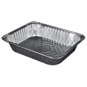 Durable Packaging Half Size, Deep Disposable Steam Table Pans - Disposable Cookware