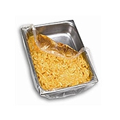 Pansaver 42005 Third and Quarter-Pan Deep Pan Liners (Case of 100) - Disposable Cookware